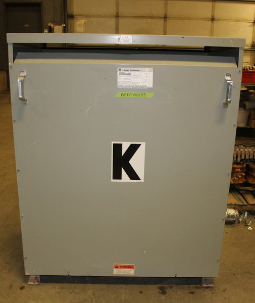 300.00 KVA GE Dry Type Transformer 480-208Y/120 Volt 3 Phase 9T23B3468G03