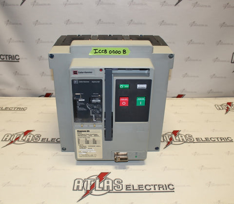 Cutler Hammer Insulated Case Circuit Breaker MDS6163WEA1252A Magnun DS ICCB00008