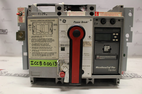 General Electric Insulated Case Circuit Breaker TC88SSE3 - ICCB00013