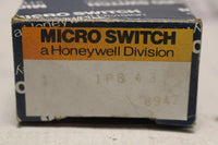 MICRO SWITCH 1PB43 SUBMINIATURE SEALED PUSHBUTTON SWITCHES
