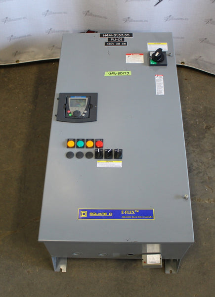 Square D 15hp Variable Frequency Drive N1 Enclosure ATV61HU75N4
