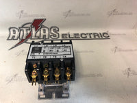 GE CR353AC4AH5 GENERAL PURPOSE CONTACTOR 4 POLE 30 AMP 24VAC COIL
