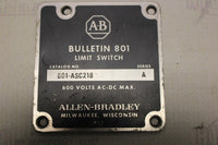 ALLEN BRADLEY 801-ASC218 LIMIT SWITCH