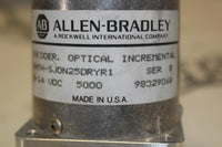 ALLEN BRADLEY 845H-SJDN25DRYR1 OPTICAL INCREMENTAL ENCODER8-24VDC