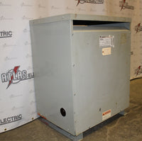 112.50 KVA General Electric Dry Type Transformer 480D-208Y/120 Volt 3 Phase