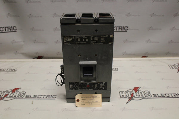 Westinghouse 800 Amp HMCGA3800F Molded Case Circuit Breaker 600 Volt