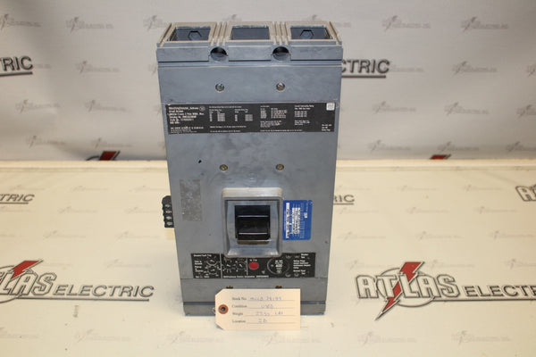 Westinghouse 400 Amp HMCGA3800F Molded Case Circuit Breaker 600 Volt