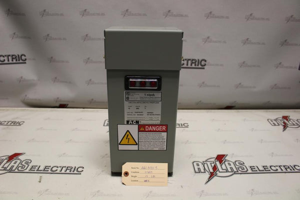10.0 KVAR Unipak Power Factor Capacitor 480 Volt Catalog Number 1043PMURF