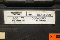 Westinghouse 600 Amp HLA3600M Molded Case Circuit Breaker 600 Volt