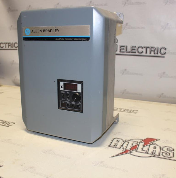Allen Bradley 5Hp Variable Frequency Drive Catalog Number 1333-CAB N-1 Enclosure