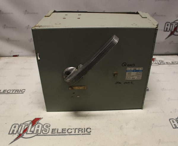 Gould/ ITE 600AMP Fusible Panel Board Switch 600Volt V7H3606