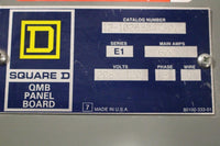 Square D QMB Panel Board 600 Amp 208Y/120 Volt 3 pahse 4 wire