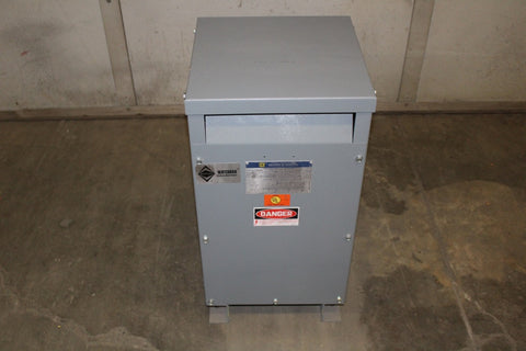 15 KVA Square D Dry Type Transformer 480-208Y/120 Volt 3 Phase