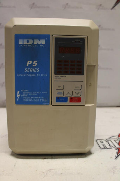 IDM 15hp Variable Frequency Drive Catalog Number CIMR-F7U47P5 N-1 Enclosure