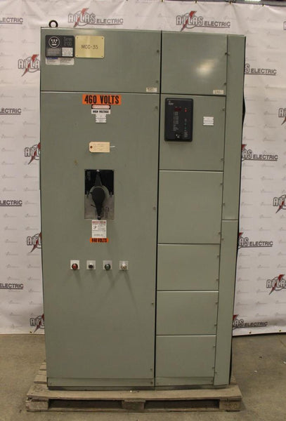800 Amp Westinghouse Automatic Transfer Switch 480 Volt CAT ATSBM30600XX