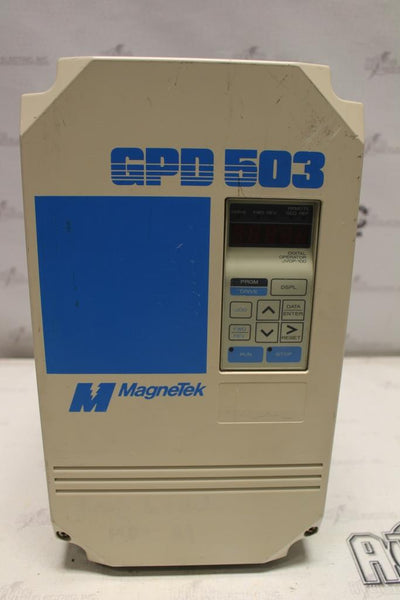 Magnetek 15hp Variable Frequency Drive Catalog Number DS317 N-1 Enclosure