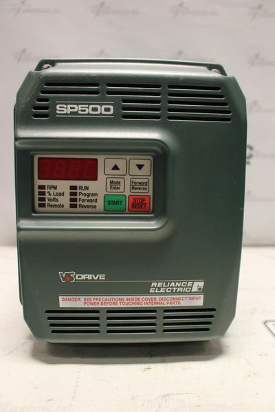 Reliance Electric 2hp Variable Frequency Drive Catalog Number 1SU41002 N-1 Enclosure