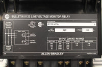 ALLEN BRADLEY 813S-VOA LINE VOLTAGE MONITOR RELAY 240V LINE VOLTAGE