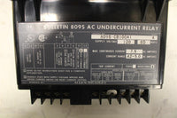 ALLEN BRADLEY 809S-CB100A1 UNDERCURRENT RELAY 120V SUPPLY VOLTAGE