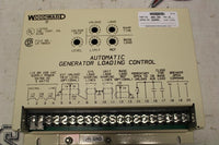WOODWARD 9905-096 M AUTOMATIC GENERATOR LOADING CONTROL SERIAL NO 12006622