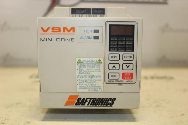 Satronics 2HP Variable Frequency Drive CIMR-XCBU40P7 N-1
