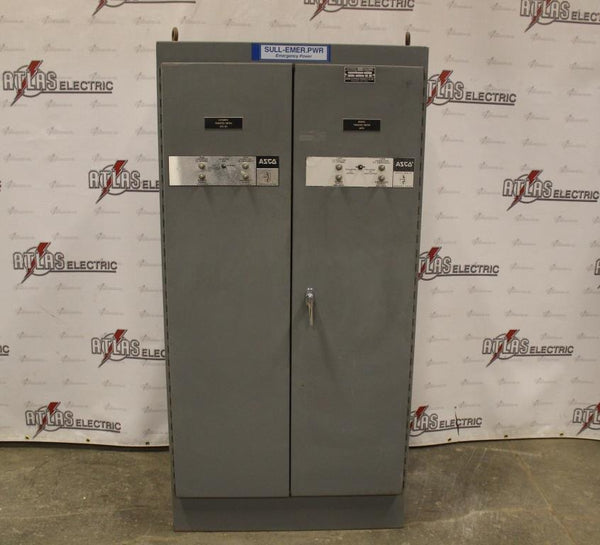 350 Amp ASCO Automatic Transfer Switch N12 Enclosure 480 Volt