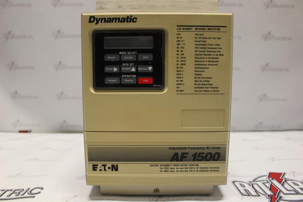 Eaton 5HP Variable Frequency Drive AF-150502-0480 N-1