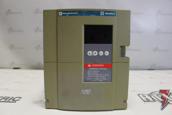 Telemecanique 3HP Variable Frequency Drive ATV18U41N4 N-1