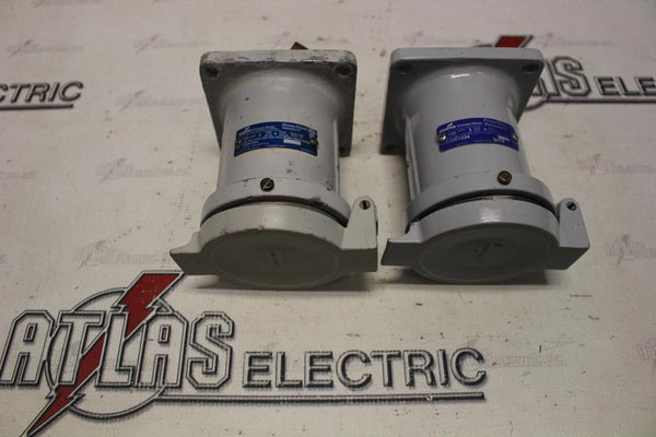 CROUSE HINDS CDR1034 3W4P 600VAC 100AMP POWERMATE RECEPTACLE