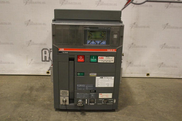 ABB Insulated Case Circuit Breaker SACE E1B-A 08 Electric Operation 800amp