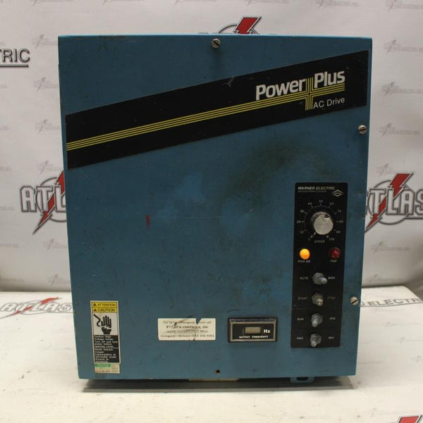 Warner 5 HP Variable Frequency Drive Catalog Number CM1064-06 N-1 Enclosure