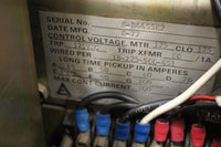 Allis Chalmers 600a Low Voltage Air Circuit Breaker LA-600A MO DO 600V Static Trip II Type TI 100amp