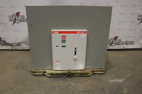 ABB 1200 Amp ADVAC type AA3D1777000000P Electric Operation Drawout 4760 Volt