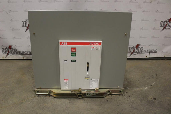 ABB 2000 Amp ADVAC type AA3D1777000000P Electric Operation Drawout 4760 Volt
