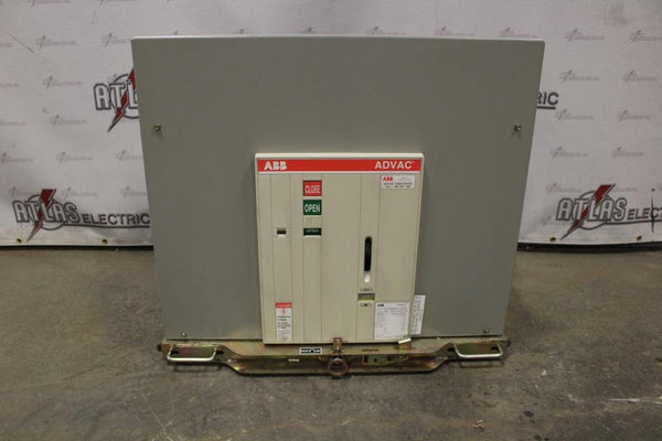 ABB 1200 Amp ADVAC type AA3D1777XX0000P Electric Operation Drawout 4760 Volt