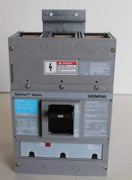 LXD63B600 Molded Case Circuit Breaker 600 Amp 600 Volt