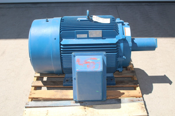 100 HP Siemens PE-21 Plus Premium Efficiency Mill and Chemical Duty Motor 885 RPM 445T Frame 460 Volt TEFC