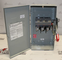 General Electric 100 Amp 3 Pole THN336 600 Volt N1