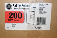 General Electric 200 Amp 2 Pole Fusible TH3224C 240 Volt N1