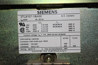Siemens Series 81000 Medium Voltage Motor Control Center Section with two 360 Amp Starters