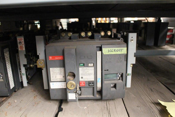 General Electric 2000 Amp Insulated Case Circuit Breaker