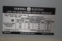 General Electric 3200 Amp AKR-10D-75H