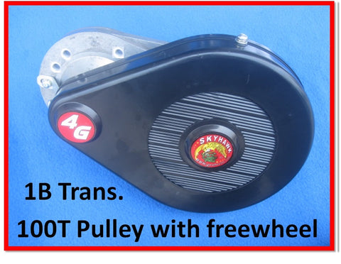 4G 1B transmission only:  Fits Huasheng 49 & 53cc engines