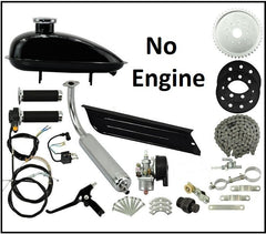 2 Stroke Engine Installation kit for bicycle; No Engine - Free Shipping