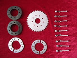 Clamp to spokes 36T rear sprocket Kit