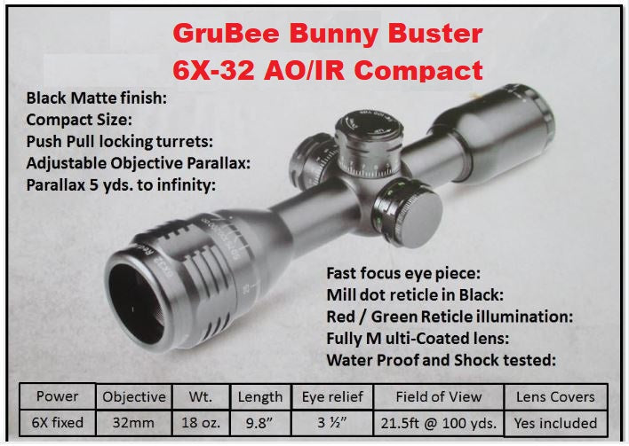 6X Bunny Buster >> Always on Target