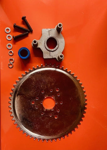 56T Sprocket and WP Clam Hub Mount