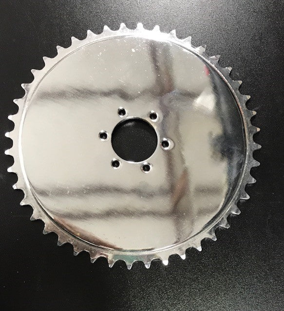 44T sprocket for Disc Brake 6 hole pattern.