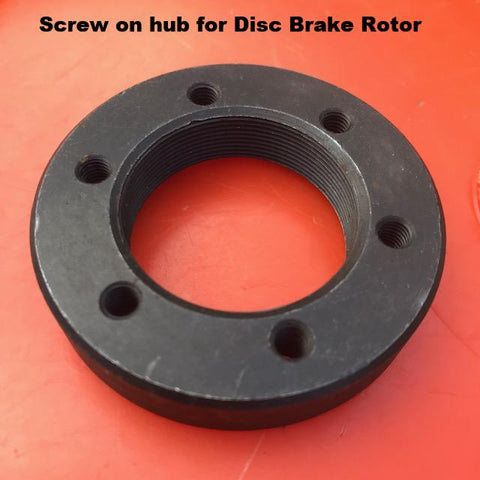 35-1 metric threaded Hub for Disc Brake Attachment on HD AXLE