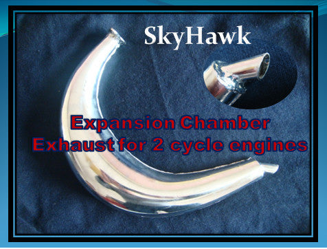 Big Boy Expansion chamber exhaust.